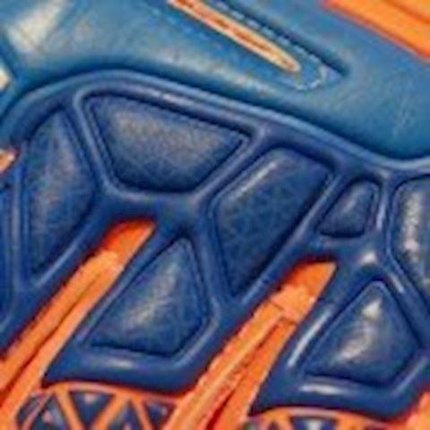 Reusch Goalkeeper Gloves Prisma Prime S1 Finger Support - Shocking Orange/Blue/Shocking Orange Kids Image 3