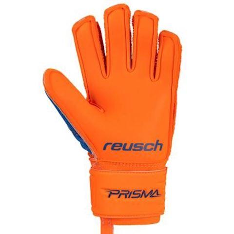 Reusch Goalkeeper Gloves Prisma Prime S1 Finger Support - Shocking Orange/Blue/Shocking Orange Kids Image 7