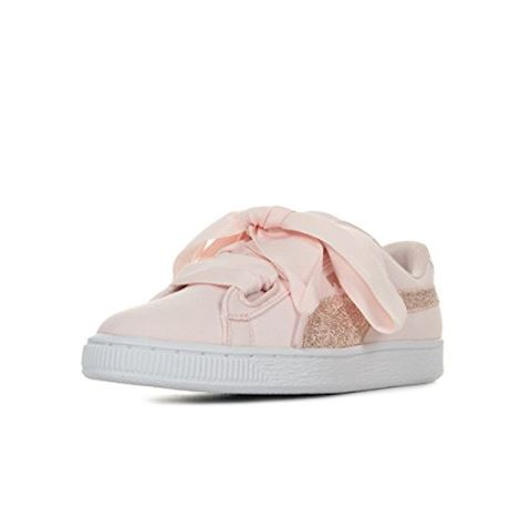 on sale 5e889 5a653 Puma BASKET HEART CANVAS W'S women's Shoes (Trainers) in White