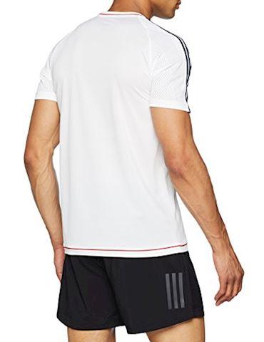 adidas Bayern München Training T-Shirt - White/Collegiate Navy Image 2