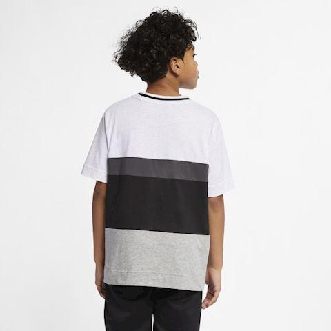 Nike Air Older Kids' (Boys') Short-Sleeve Top - Grey Image 2