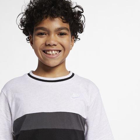 Nike Air Older Kids' (Boys') Short-Sleeve Top - Grey Image 3