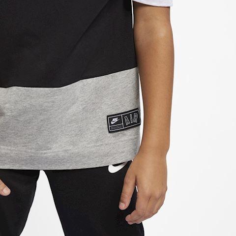 Nike Air Older Kids' (Boys') Short-Sleeve Top - Grey Image 4