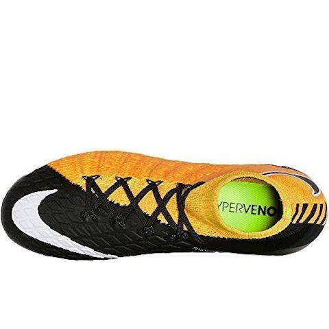 Nike Hypervenom Phantom 3 DF FG Older Kids'Firm-Ground Football Boot - Orange Image 4