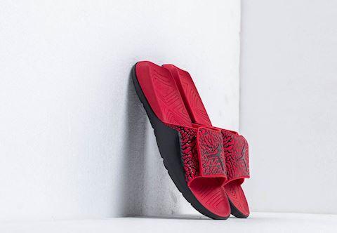 dcbe7774779 Nike Jordan Hydro 7 V2 Black/ Black-Gym Red | BQ6290-006 | FOOTY.COM