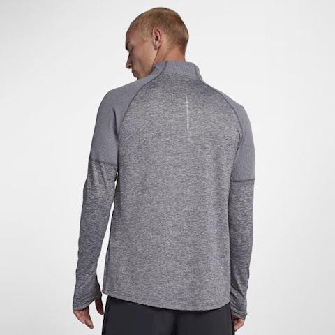 Nike Men's 1/2-Zip Running Top - Grey Image 2