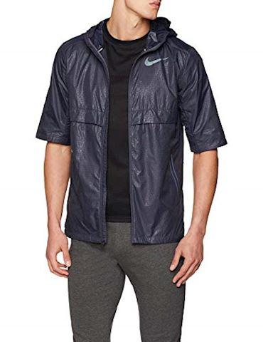 Nike Shield Men's Short-Sleeve Jacket - Grey Image