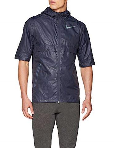 Nike Shield Men's Short-Sleeve Jacket - Grey Image 4