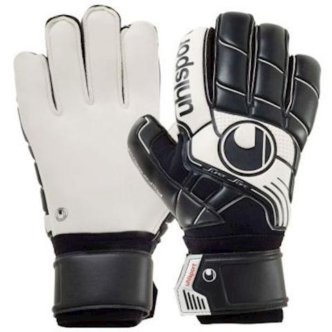 Uhlsport Goalkeeper Gloves Pro Comfort Textile - Black/White Image