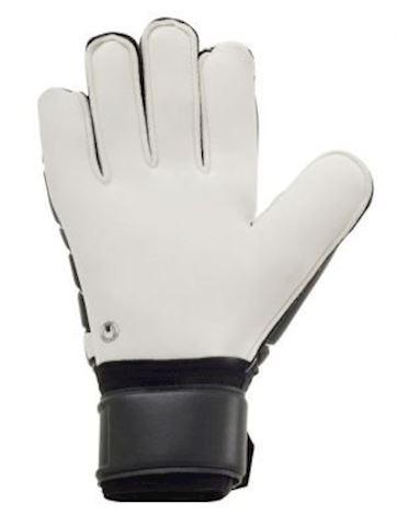 Uhlsport Goalkeeper Gloves Pro Comfort Textile - Black/White Image 3