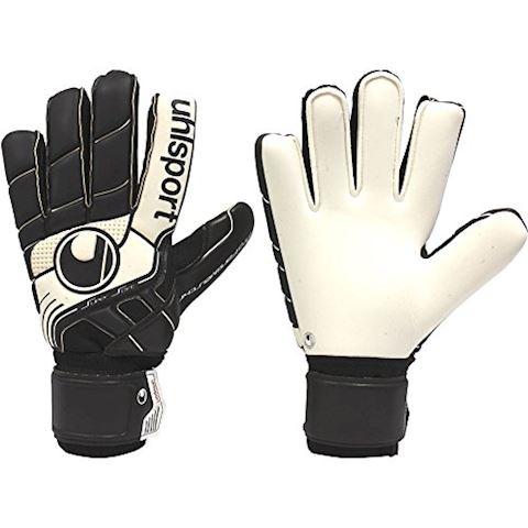 Uhlsport Goalkeeper Gloves Pro Comfort Textile - Black/White Image 5