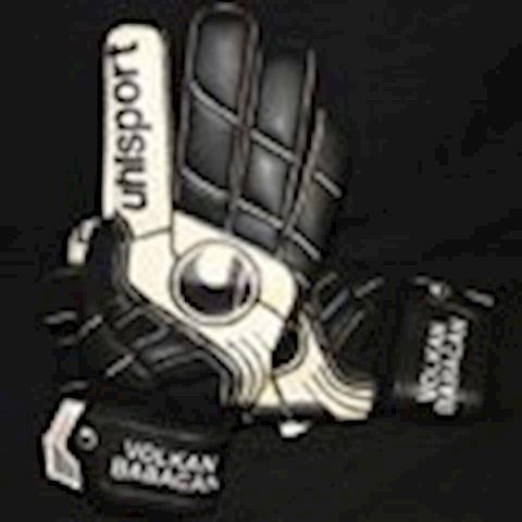 Uhlsport Goalkeeper Gloves Pro Comfort Textile - Black/White Image 6