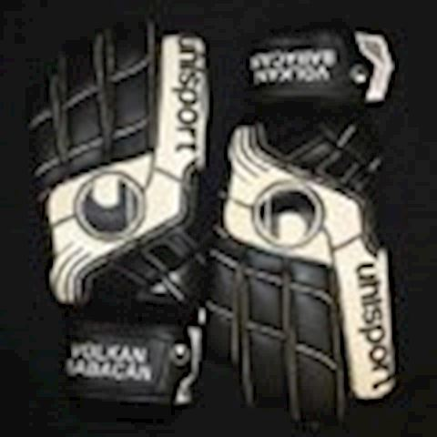Uhlsport Goalkeeper Gloves Pro Comfort Textile - Black/White Image 7