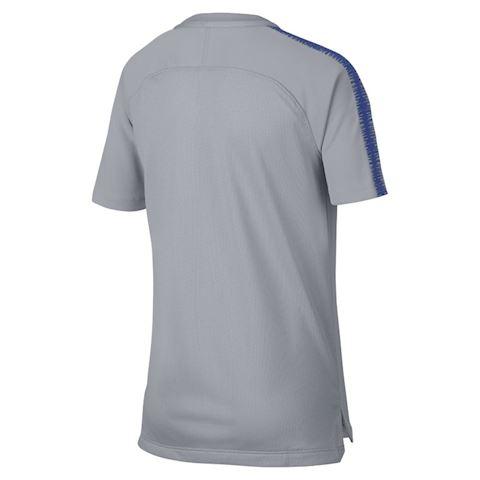 Nike Chelsea FC Breathe Squad Older Kids' Football Top - Grey Image 2