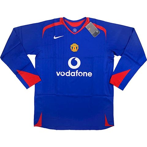 online store b8f88 102ca Nike Manchester United Mens LS Player Issue Away Shirt 2005/06
