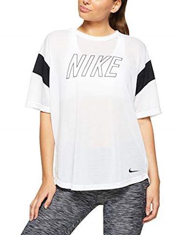 Nike Dri-FIT Women's Training T-Shirt - White Image