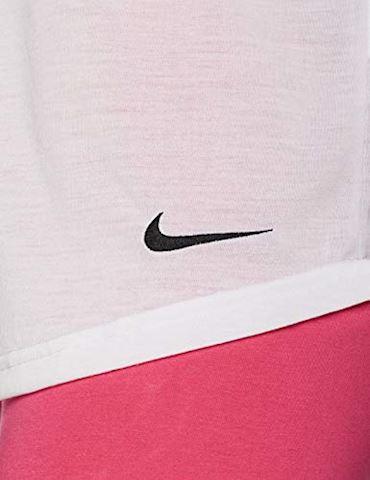 Nike Dri-FIT Women's Training T-Shirt - White Image 3