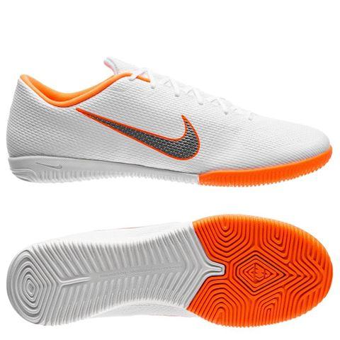 Nike MercurialX Vapor XII Academy Just Do It Indoor/Court Football Shoe - White