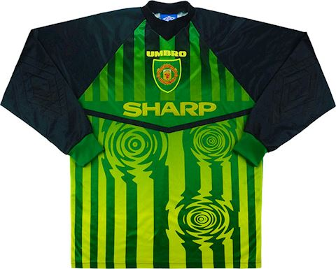 Umbro Manchester United Kids LS Goalkeeper Home Shirt 1997/98 Image 2