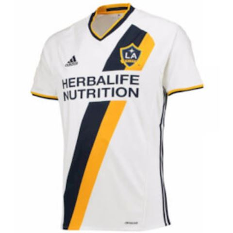 adidas LA Galaxy Mens SS Home Shirt 2016 Image
