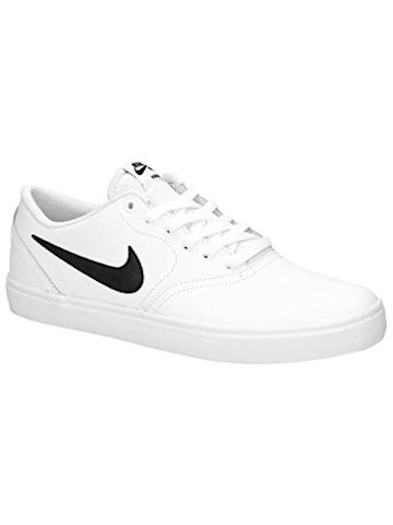 Nike SB Check Solarsoft Men's Skateboarding Shoe - White Image