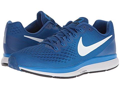 Nike Air Zoom Pegasus 34 Men's Running Shoe - Blue Image 7
