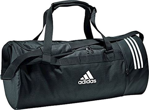 adidas Convertible 3-Stripes Duffel Bag Small Image