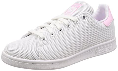 adidas  STAN SMITH W  women's Shoes (Trainers) in White Image