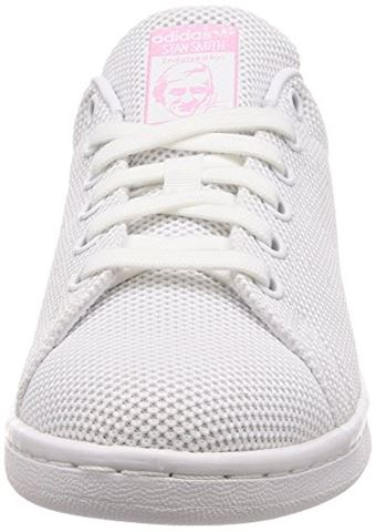 adidas  STAN SMITH W  women's Shoes (Trainers) in White Image 4