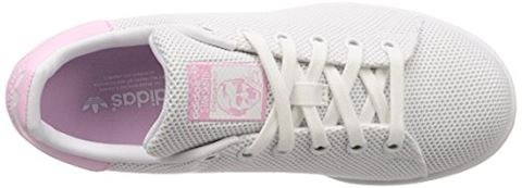 adidas  STAN SMITH W  women's Shoes (Trainers) in White Image 7
