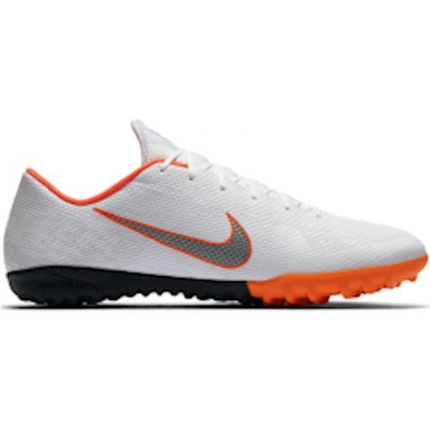 Nike MercurialX Vapor XII Academy Turf Football Shoe - White Image