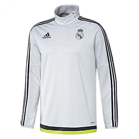 adidas Real Madrid Mens 2015/16 White Training Top Image