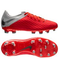 8084850e2da Nike Hypervenom 3 Academy FG Raised On Concrete - Light Crimson Wolf Grey  Kids