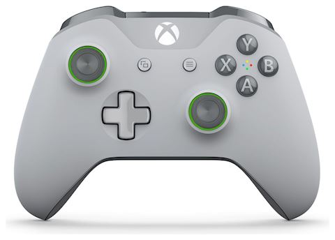 Xbox One Special Edition Controller - Grey / Green Image