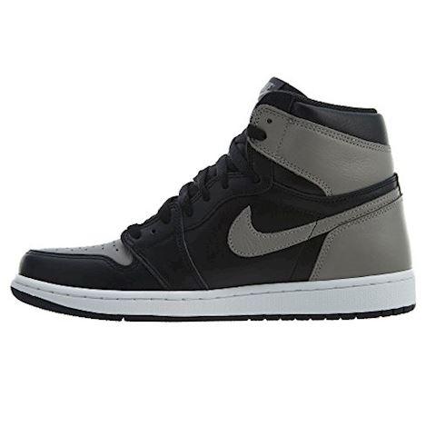 Nike Air Jordan 1 Retro High Premium Men's Shoe - Black Image 4