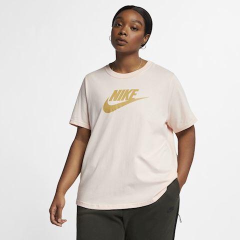 5f22b176d79 Nike Plus Size - Sportswear Essential Women s T-Shirt - Pink Image