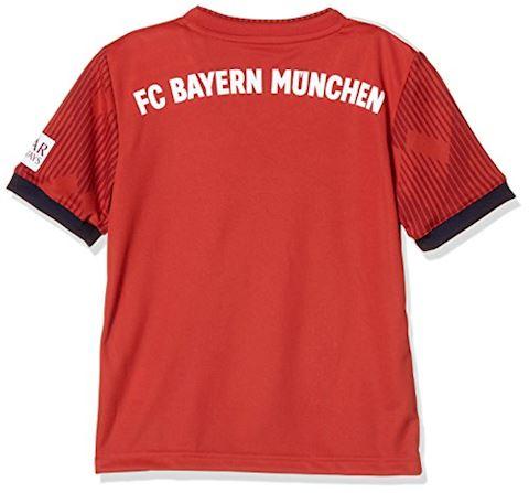 adidas Bayern Munich Kids SS Home Shirt 2018/19 Image 2