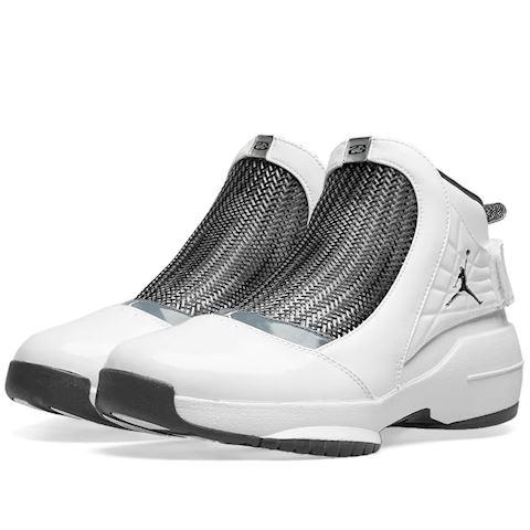 Nike Air Jordan 19 Retro Men's Shoe - White Image