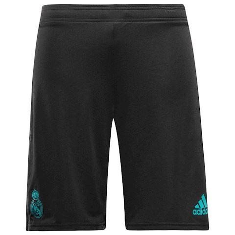 adidas Real Madrid Training Shorts - Black/Turquoise Kids Image