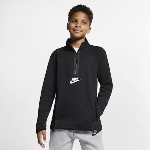 Nike Sportswear Tech Fleece Kids' Long-Sleeve Top - Black Image