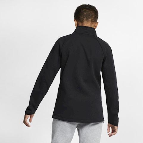 Nike Sportswear Tech Fleece Kids' Long-Sleeve Top - Black Image 2