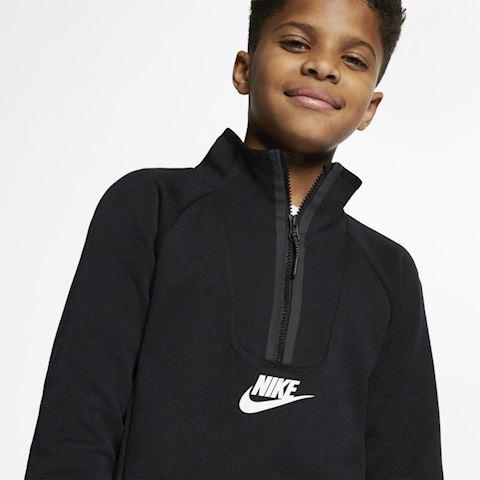 Nike Sportswear Tech Fleece Kids' Long-Sleeve Top - Black Image 3