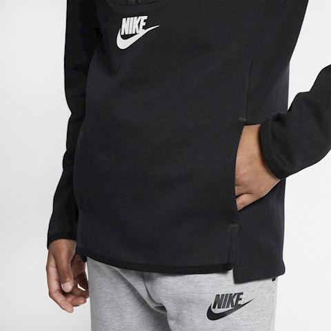 Nike Sportswear Tech Fleece Kids' Long-Sleeve Top - Black Image 4