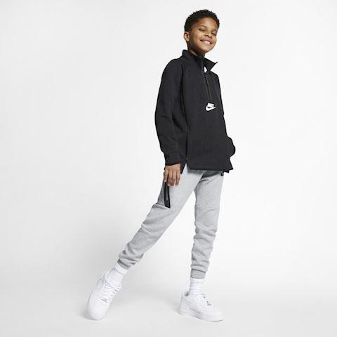 Nike Sportswear Tech Fleece Kids' Long-Sleeve Top - Black Image 5