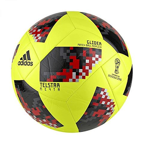 adidas Football World Cup 2018 Telstar 18 Glider Mechta Pack - Solar Yellow/Black Image