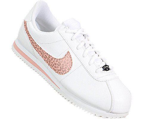 Nike Cortez Basic SL Older Kids' Shoe - White Image 5