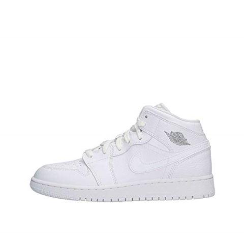 quality design 2f5c8 97023 Nike Air Jordan 1 Mid Older Kids  Shoe - White Image