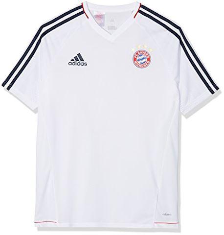 adidas Bayern München Training T-Shirt - White/Collegiate Navy Kids Image