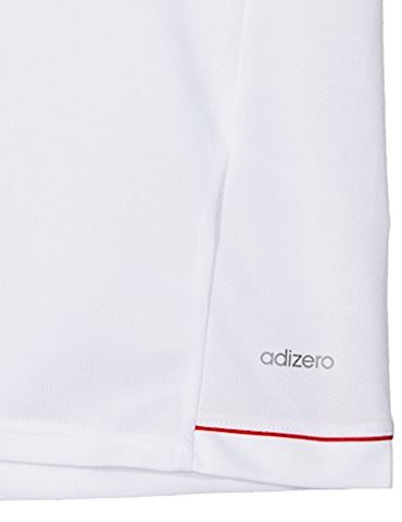 adidas Bayern München Training T-Shirt - White/Collegiate Navy Kids Image 2