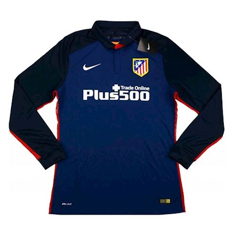 Nike Atlético Madrid Mens LS Player Issue Away Shirt 2015/16 Image